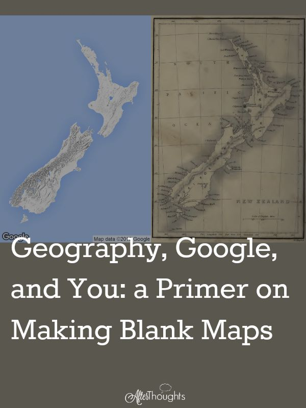 In this tutorial, you'll learn everything you need to know about using Google Maps to create blank maps. It's a map hack to end all map hacks!
