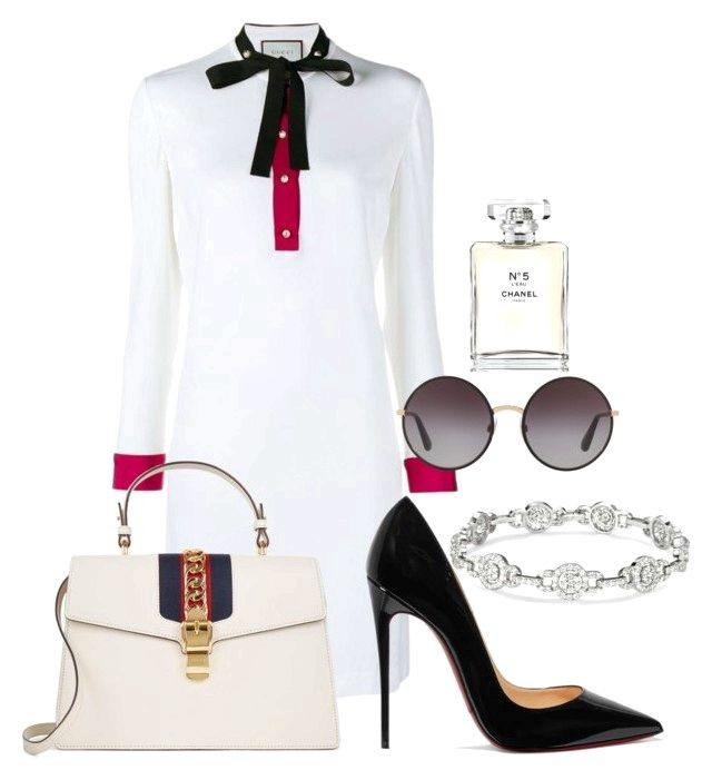 """Untitled #83"" by manueladesigns on Polyvore featuring Gucci, Christian Louboutin, Dolce&Gabbana and Chanel on the lookout for limited offer,no taxes and free shipping.#shoes #womenstyle #heels #womenheels #womenshoes  #fashionheels #redheels #louboutin #louboutinheels #christanlouboutinshoes #louboutinworld"