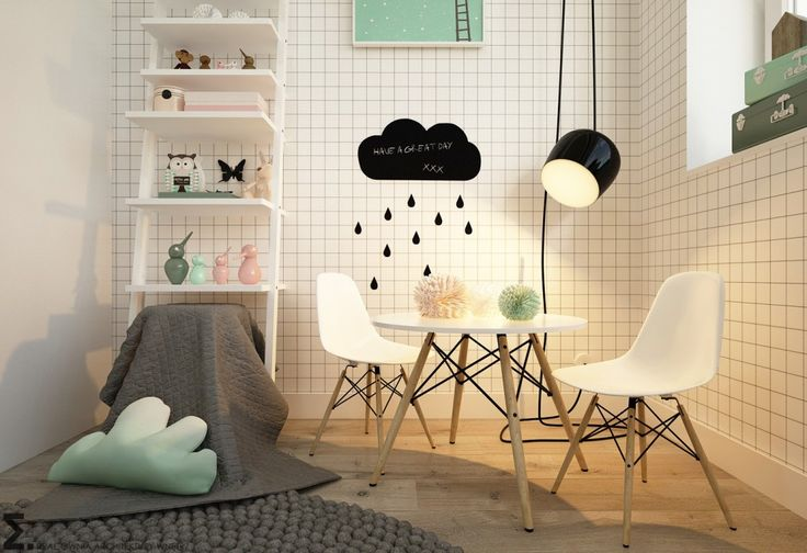 Inspiration for a modern kids room