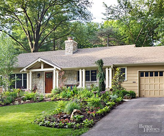 60 best design curb appeal images on pinterest for 60s house exterior makeover