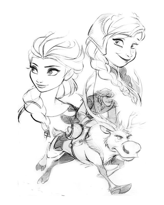 Novas Concept Arts de Frozen, da Disney | THECAB - The Concept Art Blog