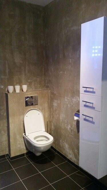Wanden in beton stuc look. Lounge appartement TS43. www.ts43.nl. #Terschelling
