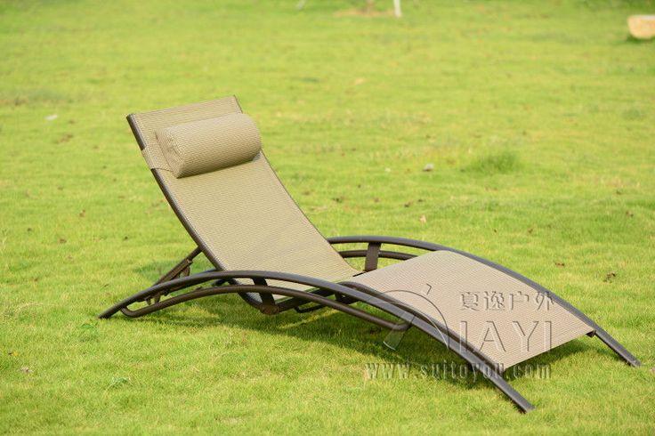 hoge kwaliteit buitenmeubelen ligstoel strand stoel voor zwembad terras meubilair