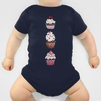 Onesies by Natalie Murray | Society6 Cupcake onesie