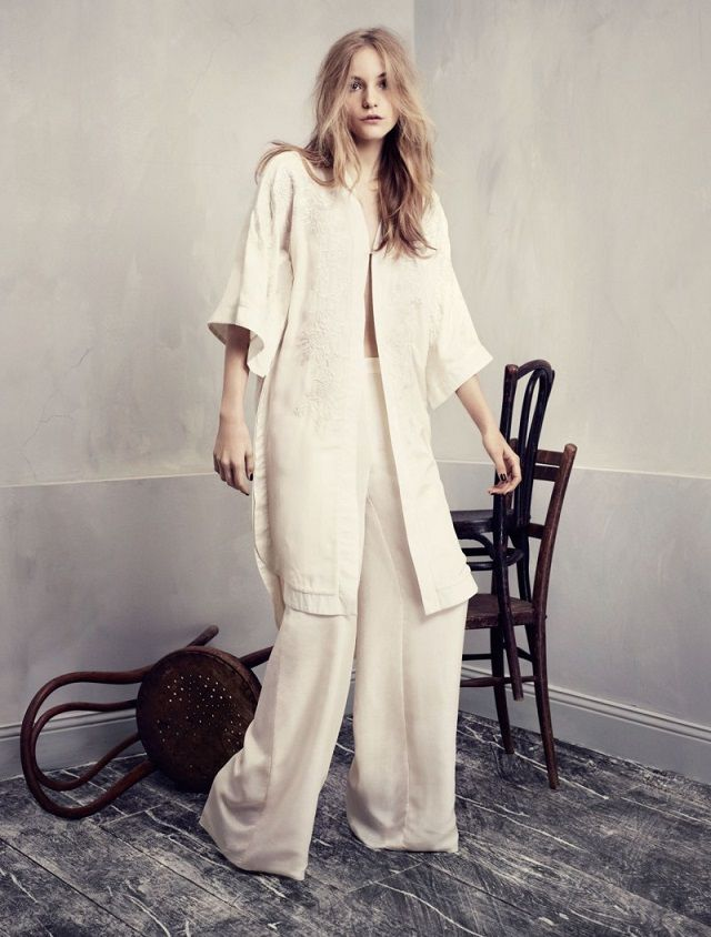 H&M Conscious Exclusive Collection 2013 featuring Dorothea Barh Jorgensen