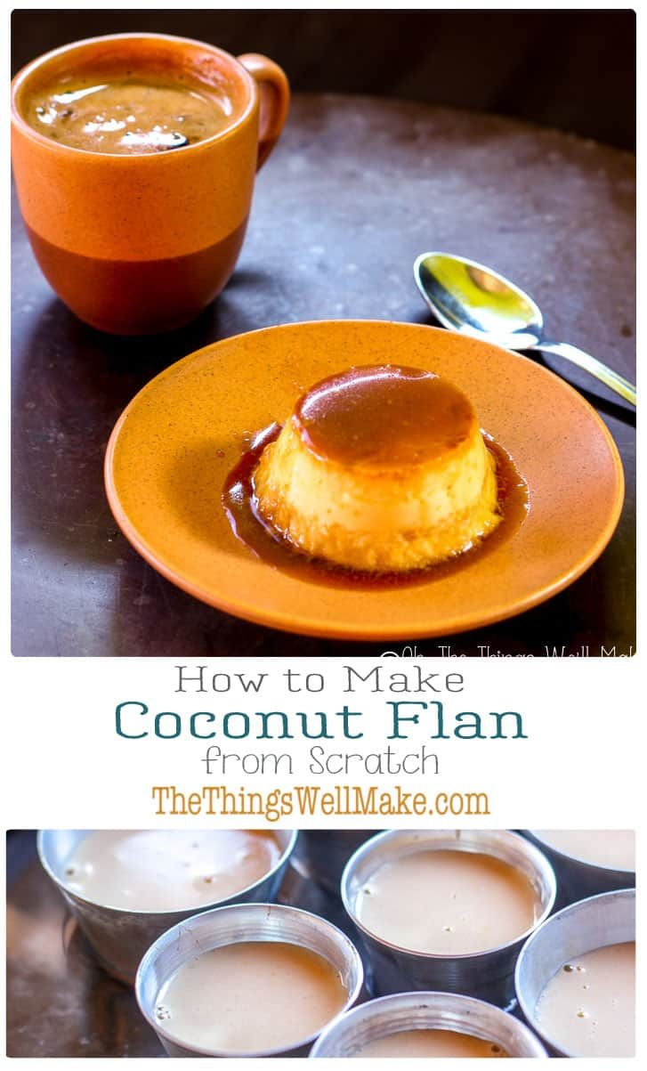 Coconut Flan Recipe Coconut Flan Flan Recipe Coconut Milk Flan Recipe