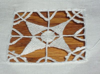 Needle Lace Sample