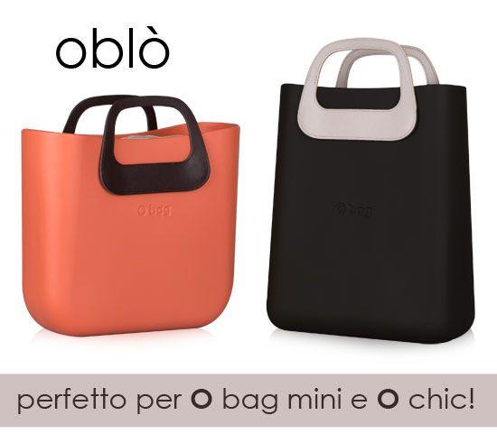 #Oblò è il nuovo manico ispirato a uno stile retrò, pensato per rendere originali le tue #Obag mini e #Ochic! Disponibili in NERO, MARRONE e NATURALE >> http://bit.ly/1GAkJh2 Oblò is a new pair of handles conceived to match with O chic and O mini. Get it NOW! Available in BALCK, BROWN and NATURAL