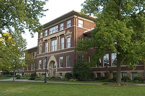 Old Facade of South Hall ~ UW-River Falls