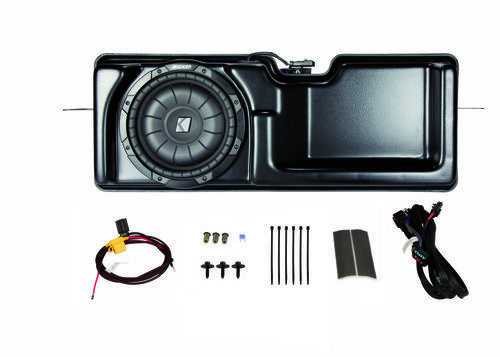 KICKER PowerStage Multi-Channel Amplifier & Powered Subwoofer Upgrade Kit for 2013-2014 Ford F150 Super Cab with MyFord Radio (4- or 8-in screen)