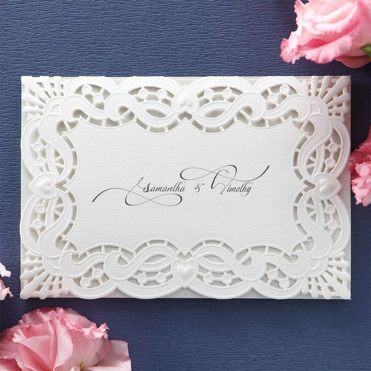 paper cut wedding invitations uk%0A Monogram initial Laser Cut Wedding Invitations  u     BH