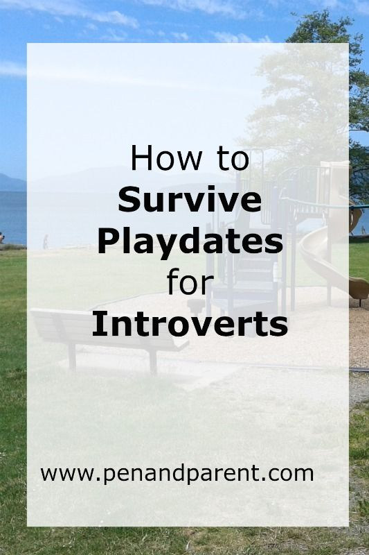 Learn how to survive playdates for introverts/parents/moms/dads. Click through to discover great kid activities that make both the kids and introverted parents happy