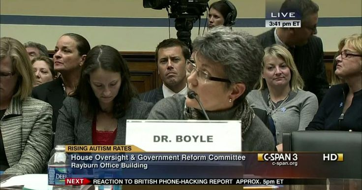 (C-Span) AUTISM  Colleen Boyle with the CDC tries to not answer the question. The CDC doesn't want  want to do the study, because they know what the results would be..  Rep Bill Posey (R-Florida)  2012  #vaxwithme #vaxxed