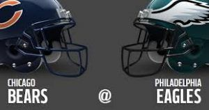 Watch Philadelphia Eagles vs Chicago Bears NFL Football games today online stream live direct satellite HD in here.