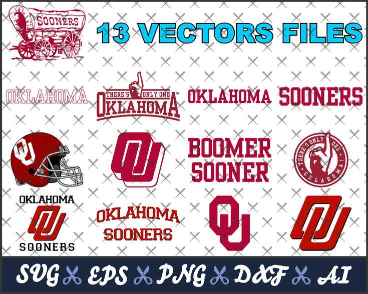 Oklahoma Sooners svg, Boomer Sooner, vector files for