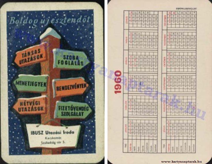 1960 - 1960_0089 - Régi magyar kártyanaptárak