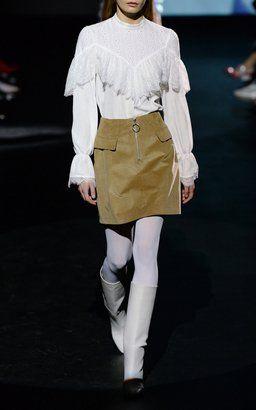 f41461fb74 Merlyn Blouse with Sarita Front Zip Skirt by Baum und Pferdgarten Fall  Winter 2018