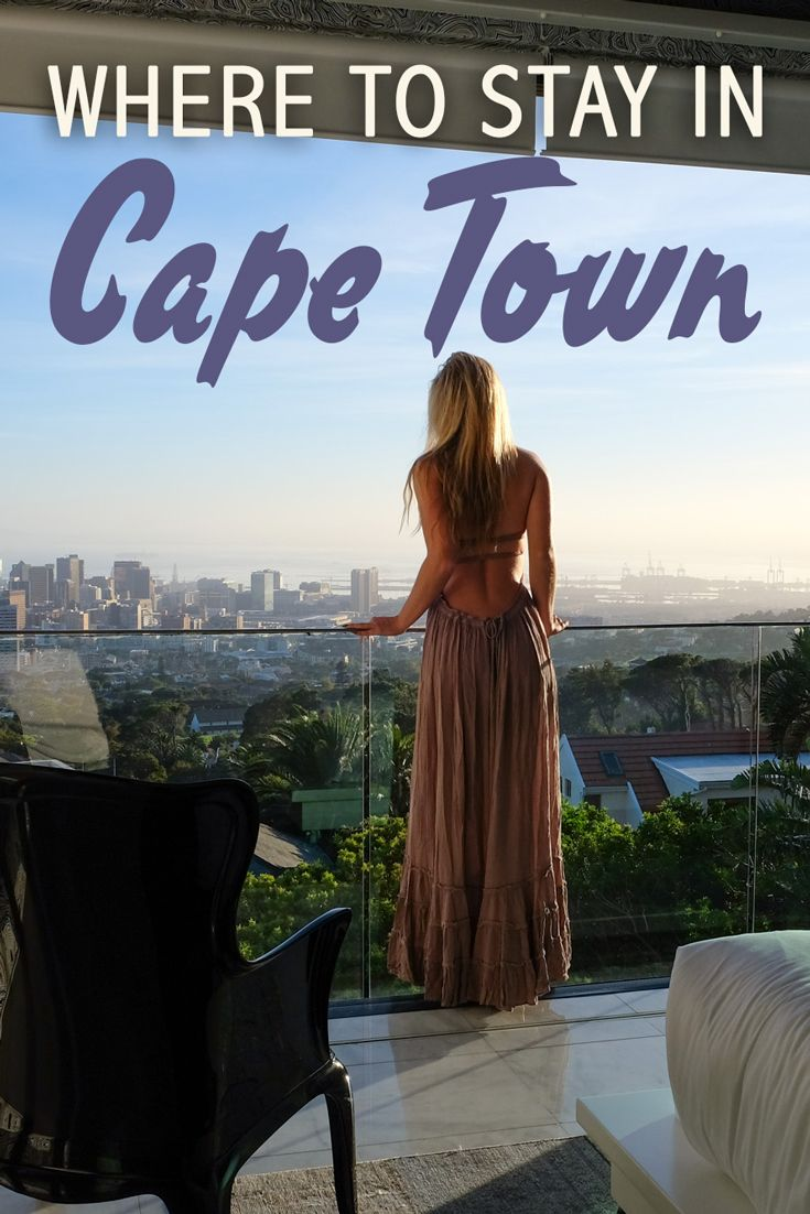 Cape Town, and South Africa in general, is filled with beautiful, luxury boutique hotels. Note that in Cape Town, hostel prices are fairly high, so unless you're traveling on your own, you might as well stay in a hotel.