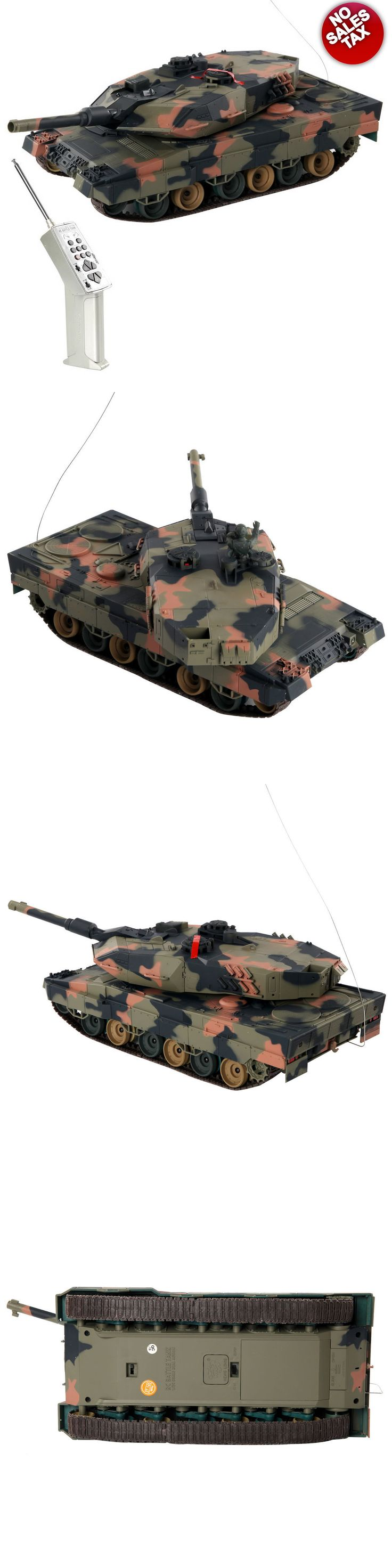 Tanks and Military Vehicles 45986: Rc Tank Leopard Ii German A5 Airsoft Tank Toy Military Battle Vehicle 1 24 Mbt -> BUY IT NOW ONLY: $61.95 on eBay!