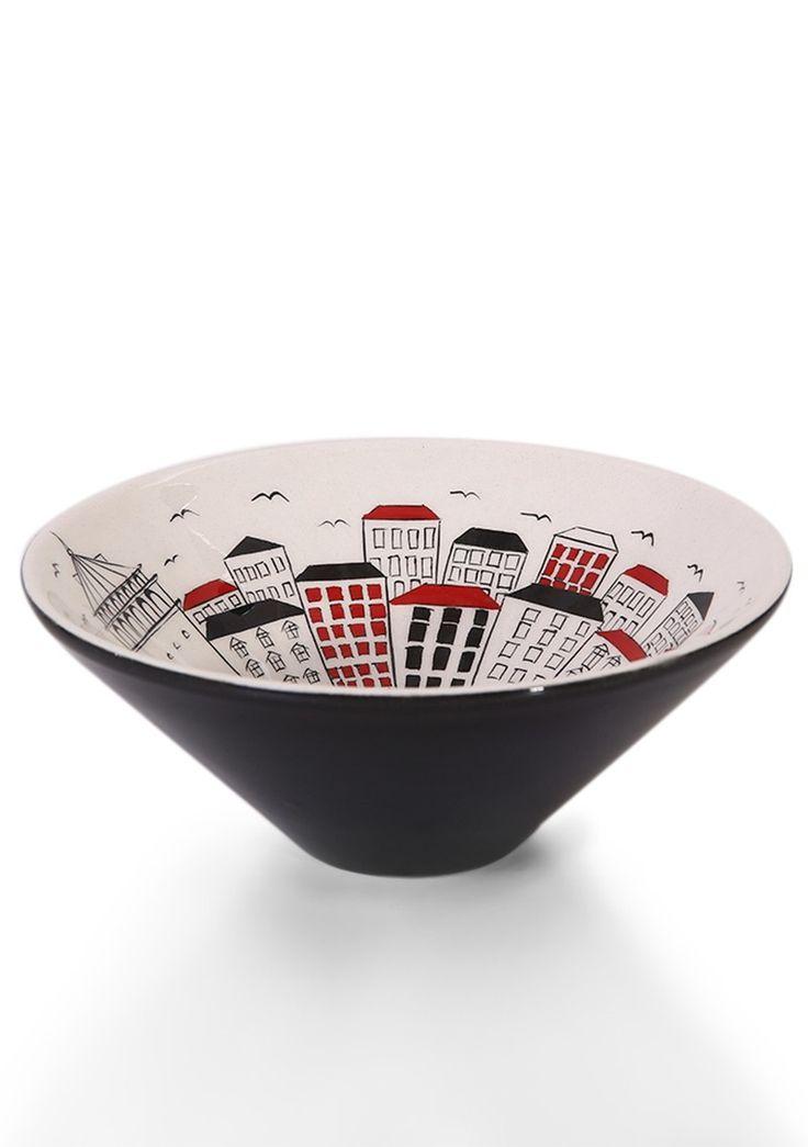 Galata View Ceramic Bowl