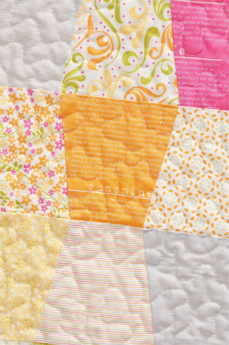 46 best Stippling quilts images on Pinterest | Stippling, Html and ... : stippling a quilt - Adamdwight.com
