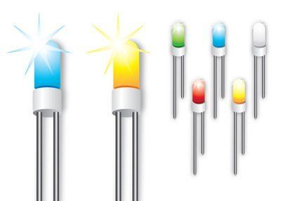 LED Lampen für Pinnwände, 10er Pack, GELB: Amazon.de: Bürobedarf & Schreibwaren