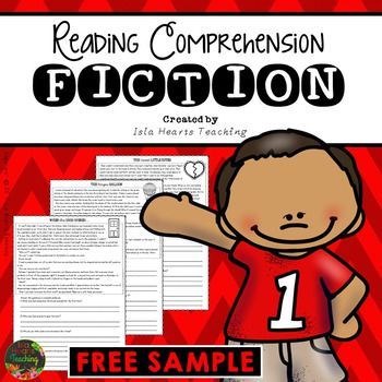 FREE Reading Comprehension for Third Grade