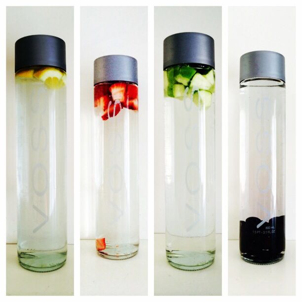 Water Bottle You Put Fruit In: Fruit Or Vegetable Infused Water. Make Sure The Fruit