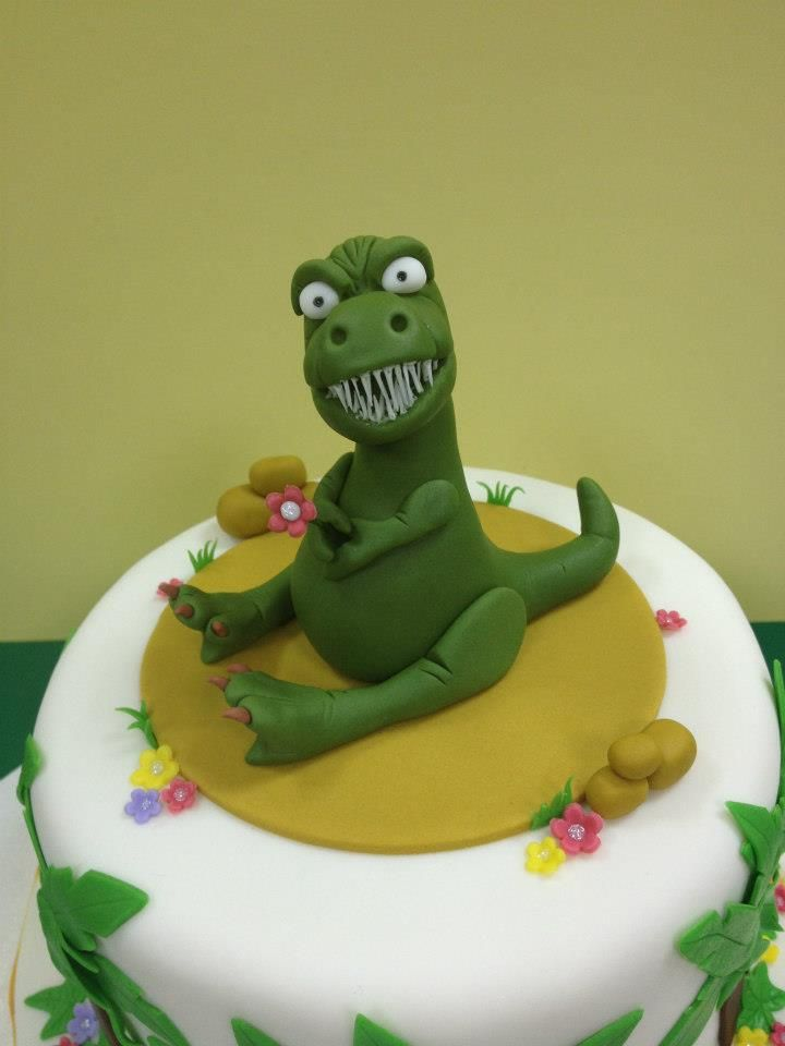 30 best Trex cake images on Pinterest Dinosaur party Anniversary
