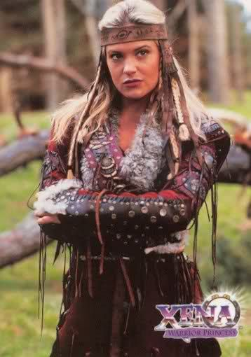 "Queen Cyane of Northern Siberia of Amazons. She was in Xena:Warrior Princess- ""Adventure in sin"" part one and two."