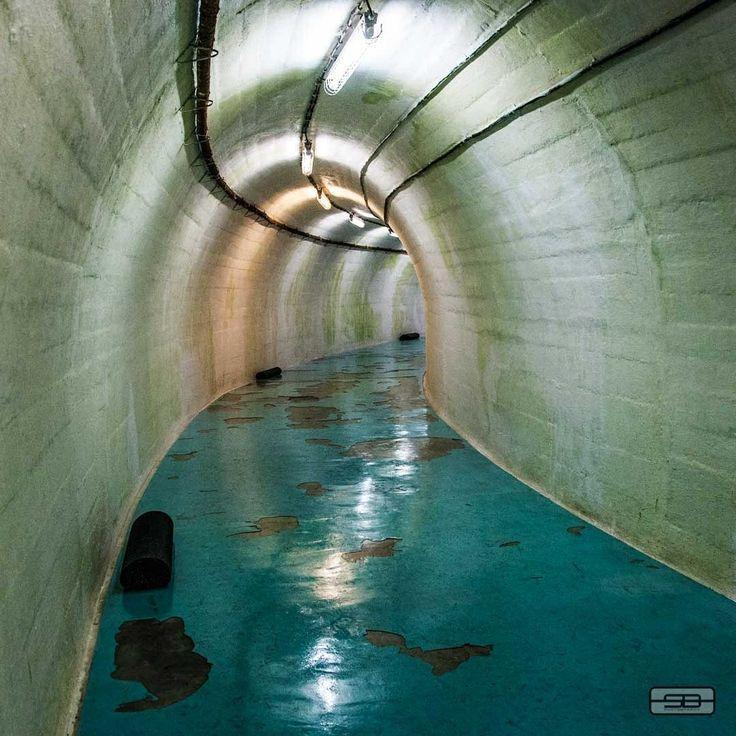 Atomic bunker for ex Jugoslav president Tito