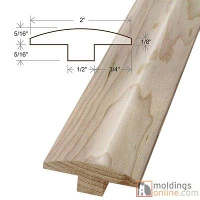 Best Moldings Online Armstrong 63 X 2 X 78 Maple T Mold 400 x 300