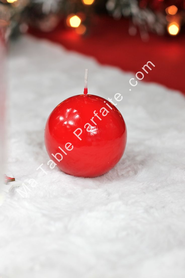 1000 images about d co de table rouge et blanc on pinterest for Table noel rouge et blanc