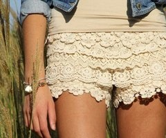 Fashion, Style, Clothing, Crochet Shorts, Outfit, Summer, Wear, Lace Shorts, Dreams Closets
