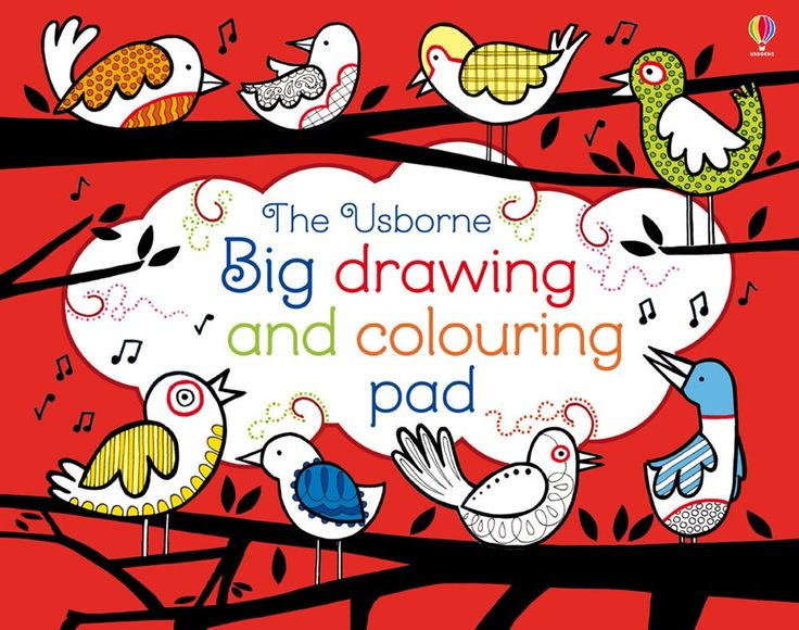 """Find out more about """"Big drawing and colouring pad"""", write a review or buy online."""