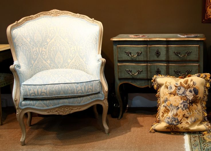Classic French Style Louis XV Armchair