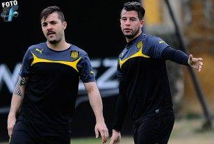 El brasileño Diogo y Gianni Rodríguez trabajaron aparte.