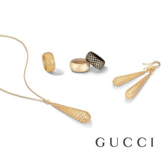 """""""Fondato a Firenze nel 1921, Gucci è apprezzato in tutto il mondo per la sua leadership nel settore della moda e del lusso, per l'artigianalità tipicamente italiana e la qualità dei prodotti esclusivi venduti attraverso una selezionata rete di negozi. Nel 2002 Gucci è stato uno dei primi marchi di lusso a sviluppare l'attività online, tramite il sito www.gucci.com/it/home""""..."""