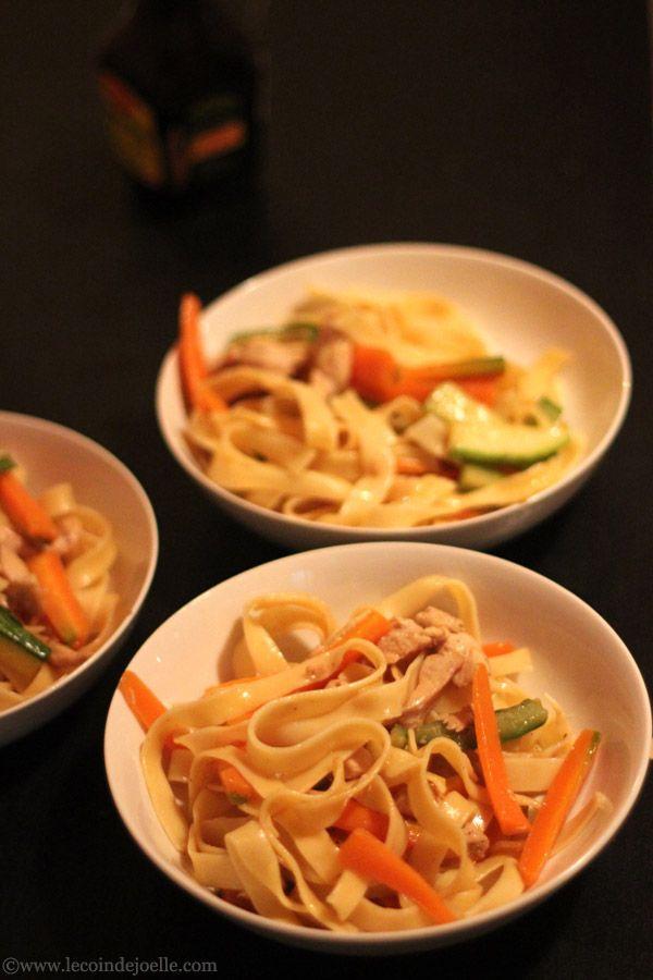 Mi sao ou Misao ☆ cuisine malgache (remplacer le poulet par du simili carne)