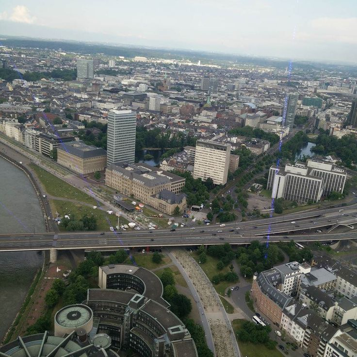 Breathtaking views from the Rheinturm Tower of the State Parliament  #2europeans #germany #düsseldorf #europe #rheinturm #skyline #bluesky #parliament #roadtrip #beautiful #landscape #views #walk #hashtag #goals #instagram #picture #enjoy #moments #lifestyle #travelphotography #happy #fun #travel #travelgram #travelling #trip #travel #traveltheworld #nofilter