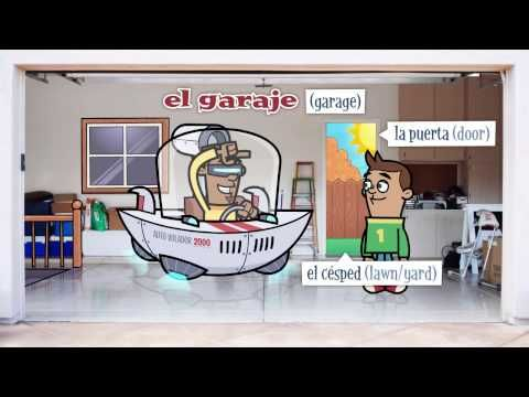 La casa - This video is designed to build mastery of the language, introducing and reinforcing Spanish vocabulary about your home. Watch and listen as native speakers discuss the question ¿Es su casa?