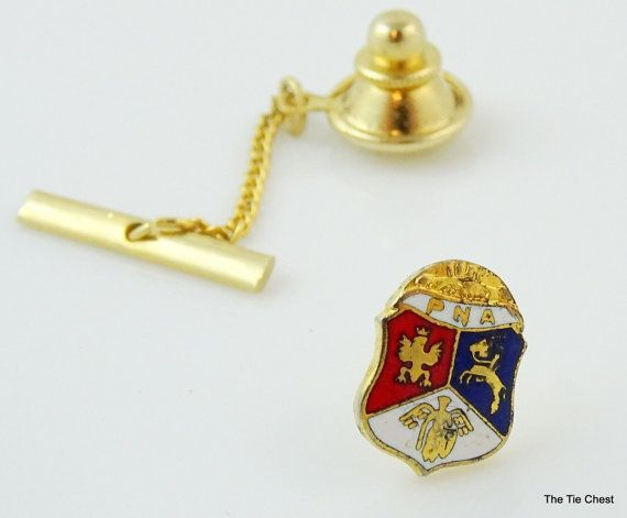 Fantastic find! Vintage PNA Pin/Tie Tack. Polish National Alliance pin  #thetiechest