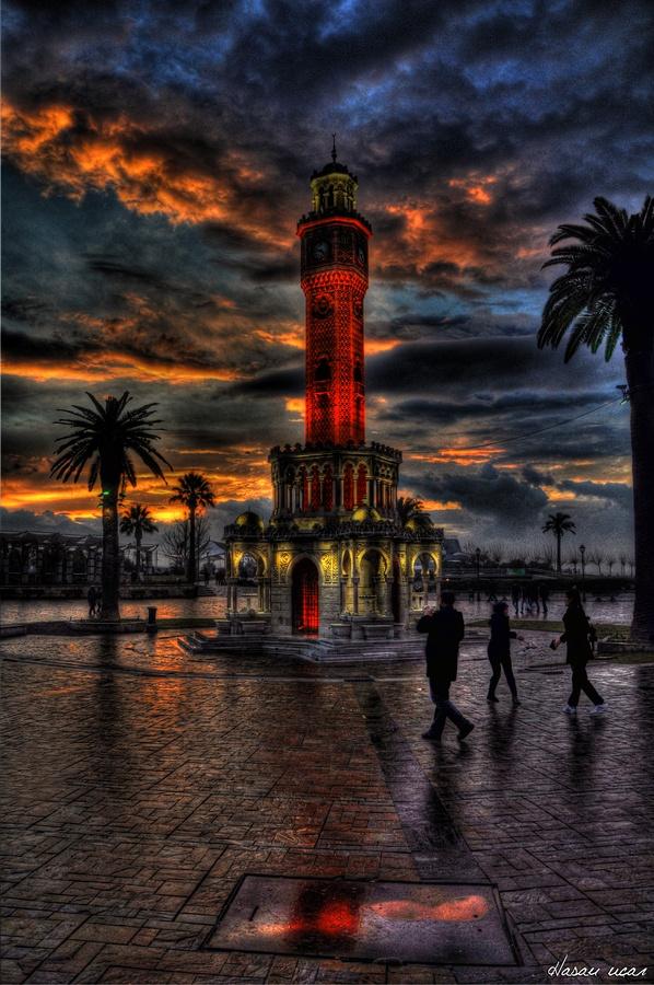 Das Wahrzeichen von Izmir... Der Uhrturm