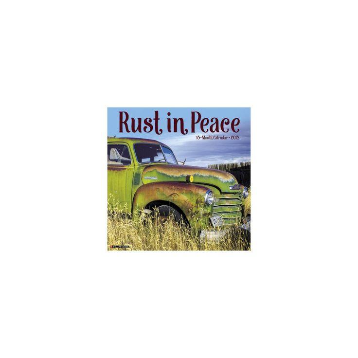 Rust in Peace 2018 Calendar (Paperback)