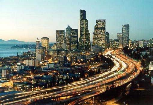seattle: States Washington, Emeralds Cities, Favorite Places, Grey Anatomy, Washington States, Pacific Northwest, Art Seattle, Seattle Washington, Awesome Places
