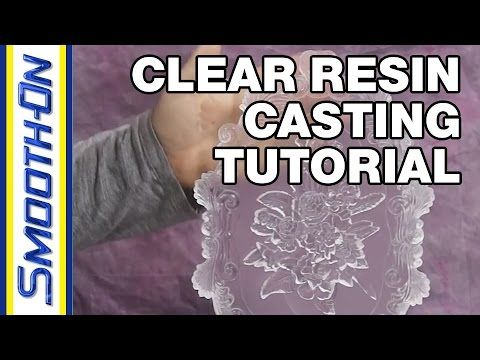 Here are some basic tips for casting optically clear resin parts. In this tutorial we cast Crystal Clear 202 urethane resin into a Mold Star 15 silicone mold to produce a UV resistant, optically clear casting.  We also demonstrate how to properly vacuum de-gas the material before pouring, which will produce a bubble-free casting.