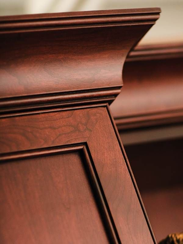 Top it off! #Cabinet #Molding Treatments – One-piece decorative ...