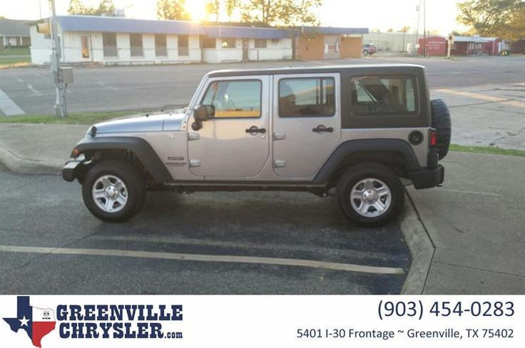 https://flic.kr/p/NVg64U | Happy Anniversary to Connie on your #Jeep #Wrangler Unlimited from Lonnie Taylor at Greenville Chrysler Jeep Dodge Ram! | deliverymaxx.com/DealerReviews.aspx?DealerCode=J122