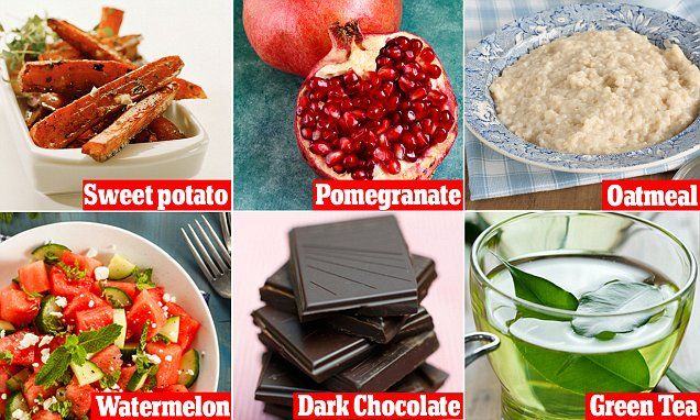 12 superfoods that can help heal sunburn... super interesting...