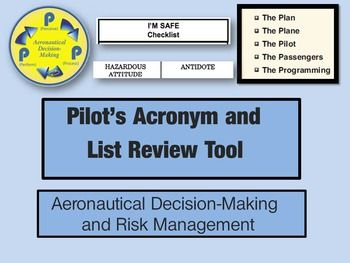 Whether you are a student pilot studying for your first checkride or an experienced pilot working on an advanced rating, aeronautical decision-making (ADM) /risk management is an important theme in your flying.    This free PDF will help you review ADM and risk management principles.